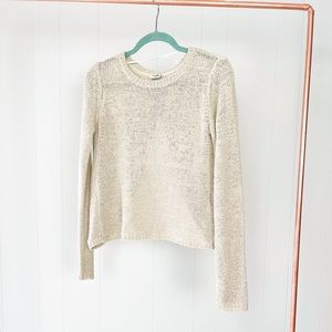 Open Back Vero Moda Sweater